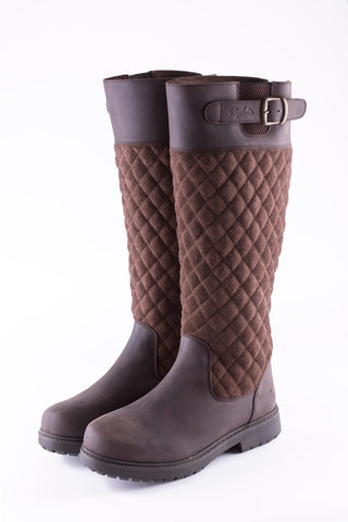 Muston Quilted Leather Boots