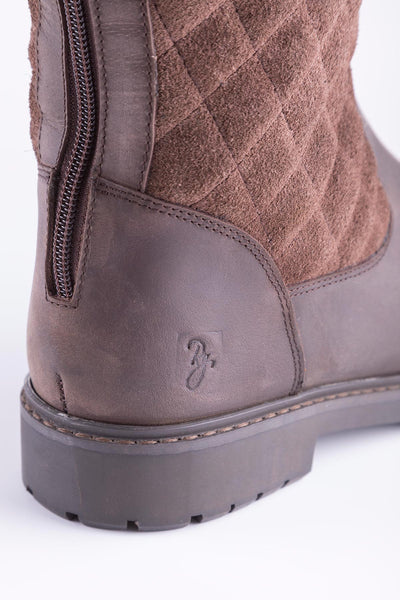 Oak - Ladies Muston Leather Boots