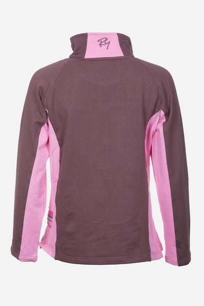 Mocha/Pink - Muston Sweatshirt