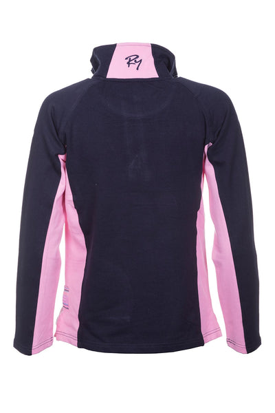 Navy/Pink - Muston Sweatshirt