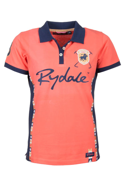 Coral - Ladies Rydale Muston Pique Polo Shirt