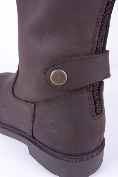 Oak - Napton Leather Boots