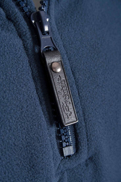 Navy - Garton Half Zip Fleece for Men