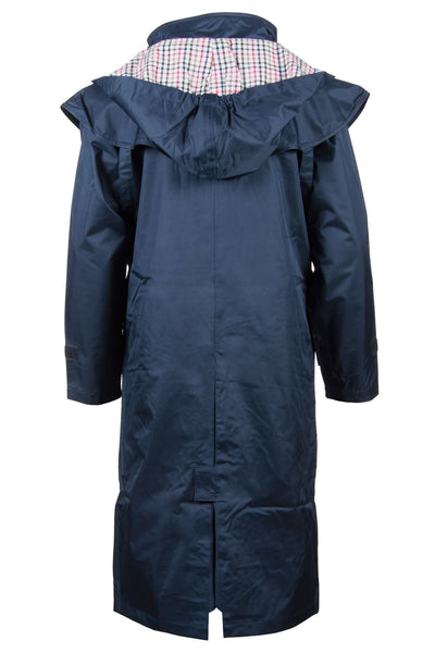 Navy - Girls Full Length Riding Coat