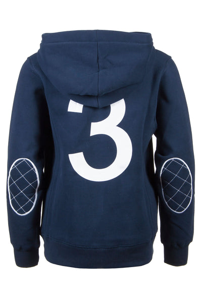 Navy - Classic Childrens Hooded Jumper