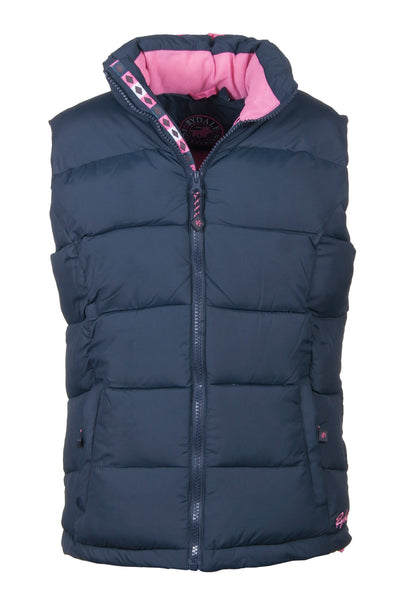 Navy - Junior Riding Gilet