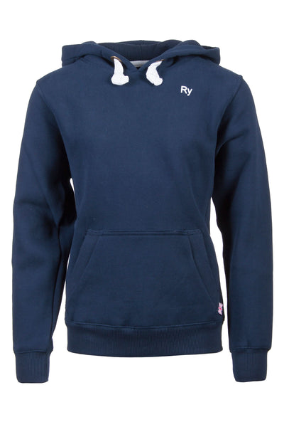Navy - Blue Junior Overhead Hoody