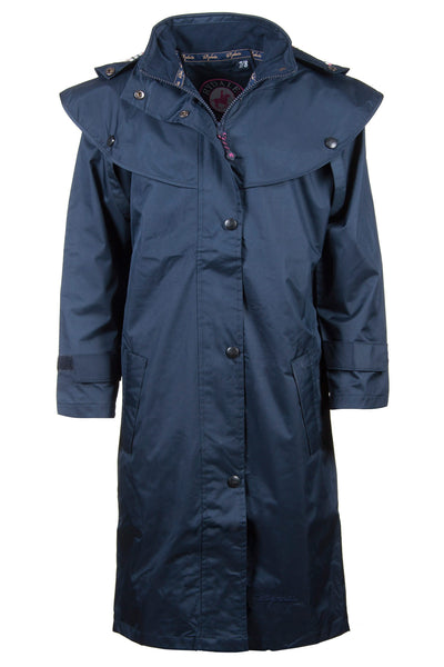 Navy - Junior Vented Riding Coat