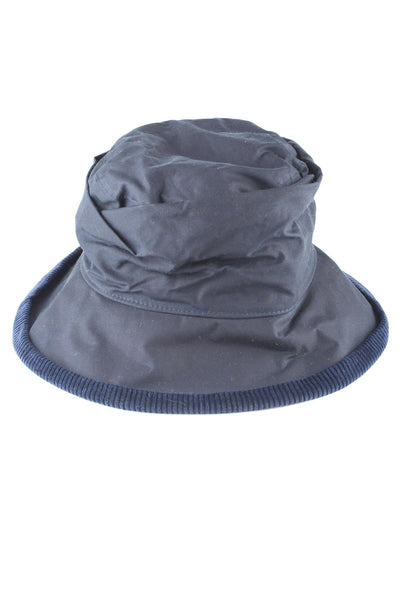 Navy - Ladies Waxed Cotton Hats