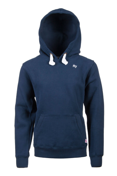 Navy - Plain Blue Childrens Hoody