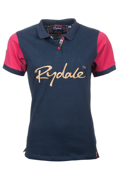 Navy / Gold - Ladies Team Rydale Polo Shirt