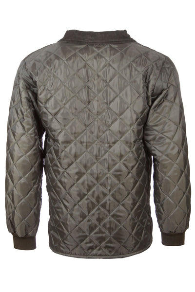 Olive - Mens Quilted Shooting Jacket