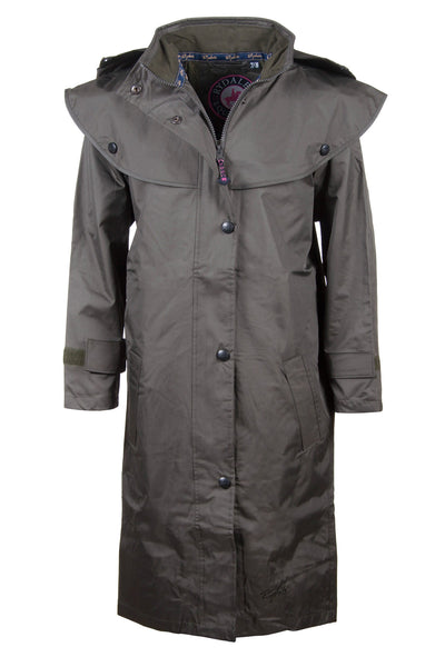 Olive - Junior Vented Riding Coat