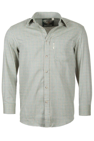 Poacher Olive - Mens Graph Check Shirt