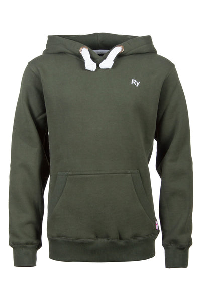 Olive - Green Junior Overhead Hoody