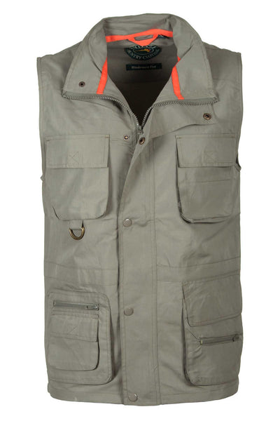 Olive - Safari Vest by Rydale