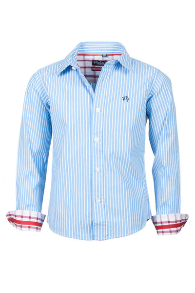 Oliver Stripe - Junior Oxford Cotton Shirt