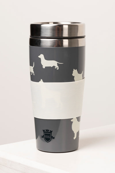 Grey - On-The-Go Insulated Mug