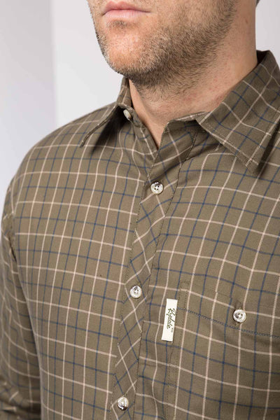 Gransmoor Olive - Padded Country Shirt