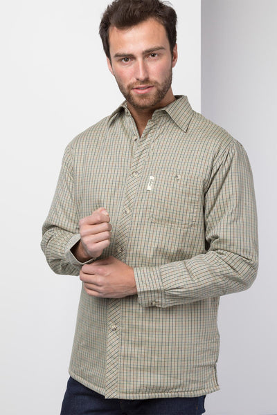 Poacher Olive - Padded Country Shirt