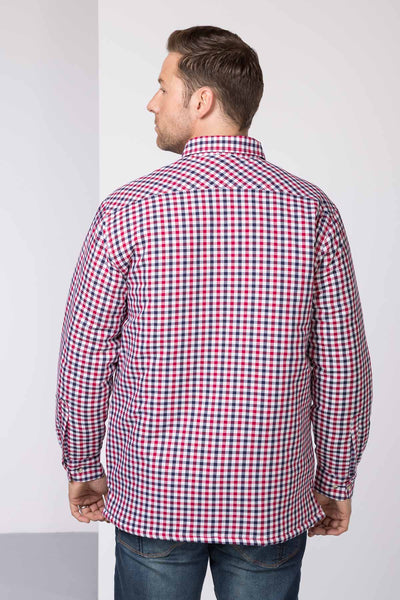 Richmond Red/navy - Padded Country Shirt