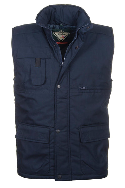Navy - Rydale Men's Country Bodywarmer