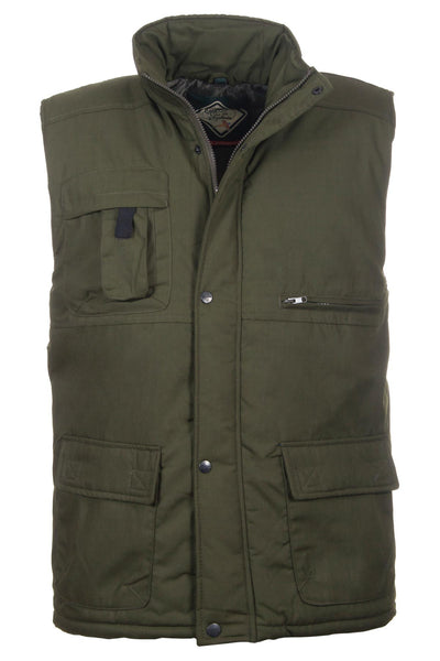 Olive - Rydale Men's Country Bodywarmer