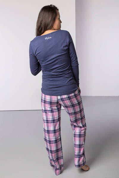 Pink Check/Horse - Peggy Pyjama Set