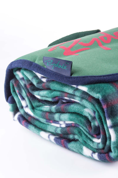 Green/Navy - Picnic Rug