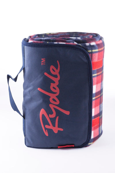 Red/Navy - Picnic Rug
