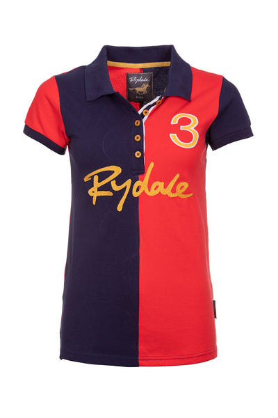 Cherry - Pippa 2 Tone Polo Shirt