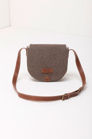 Pippa Tweed Saddle Bag