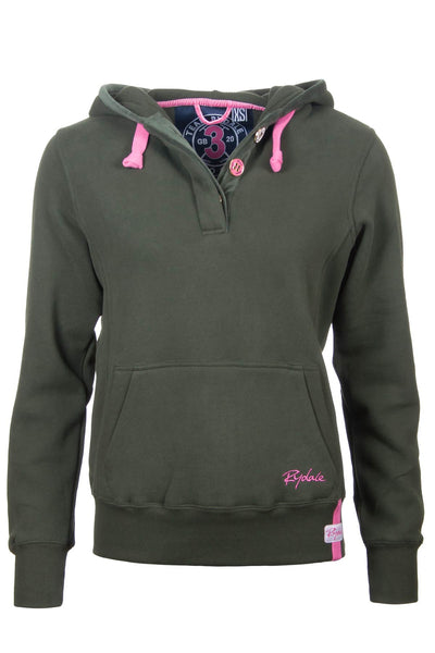 Olive - Ladies Rydale No.3 Hoodies