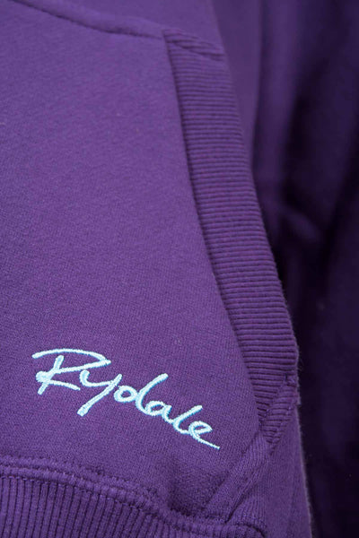 Dark Purple - Rydale Plain Hoody