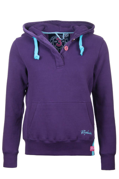 Dark Purple - Ladies Rydale No.3 Hoodies