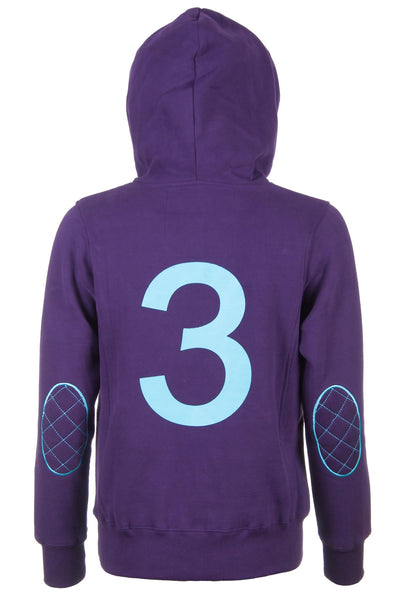 Dark Purple - Number 3 Hoody