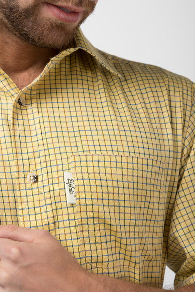 Poacher Gold - Mens 100% Cotton Long Sleeved Shirt