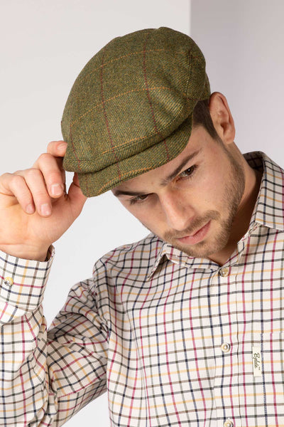 Heathland - Poacher Tweed Cap