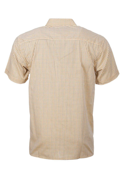 Poacher Gold - Short Sleeved Country Check Shirts
