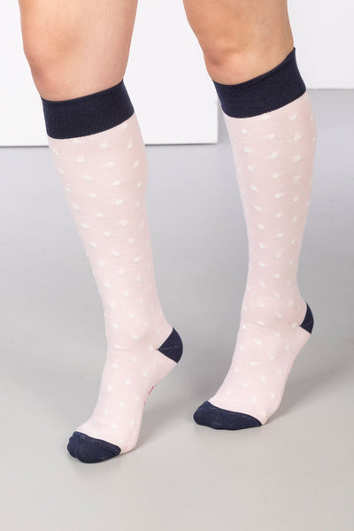 Sorbet - Polka Dot Knee Length Socks