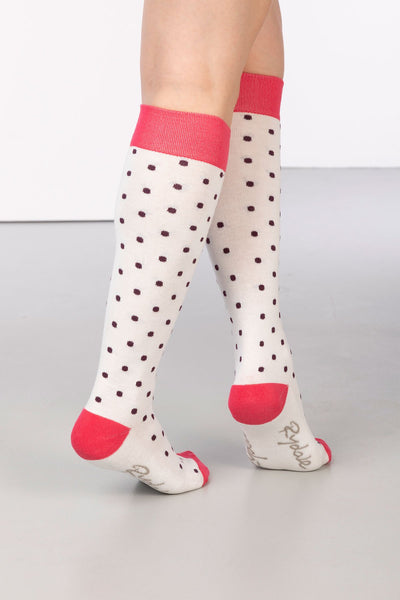 Vanilla - Polka Dot Knee Length Socks