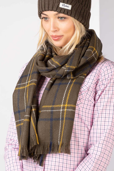 Bark - Ladies Polly Checked Scarf