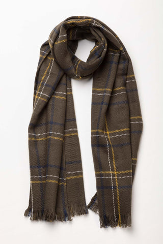 Polly Checked Scarf