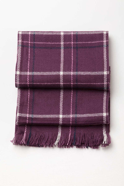 Berry - Ladies Polly Checked Scarf