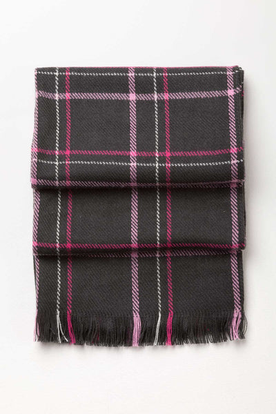 Gunmetal - Ladies Polly Checked Scarf