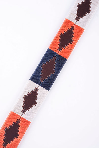 Navy/Coral - Polo Belt