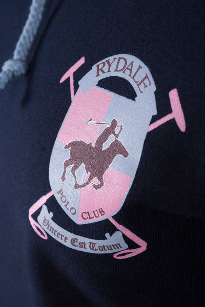Navy/Pink - Legacy Polo Club Hoody