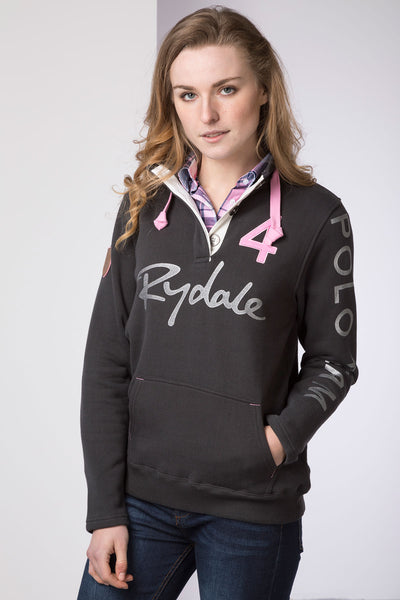Gunmetal - Ladies Polo Club Sweatshirt