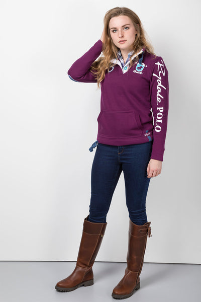 Mulberry - Polo Club Sweatshirt
