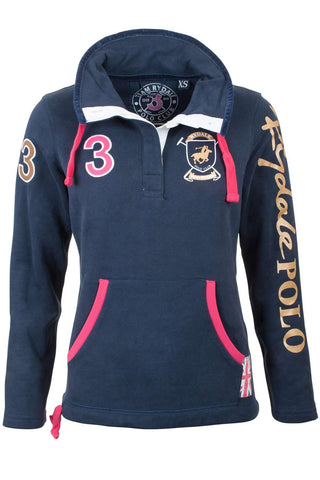 Navy - Rydale Polo Club Sweatshirt